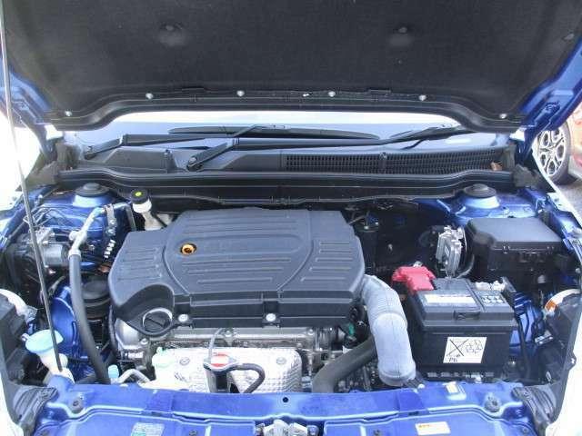 パワーと燃費性能を両立した1.6L DOHC VVTエンジン。コンディションなどくわしくはスタッフへおたずねください!