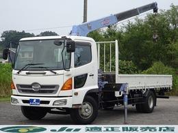 日野自動車 レンジャー タダノ3段クレーン 最大積載2.9トン ZR303モデル  荷台内寸5200×2150