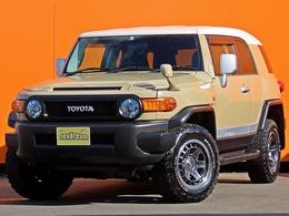 トヨタ FJクルーザー 4.0 カラーパッケージ 4WD XREASサスペンション