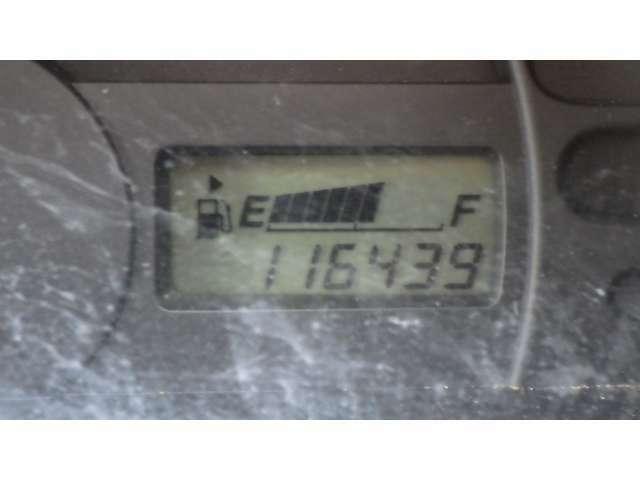 走行距離11.7万キロ