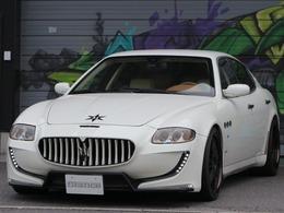 マセラティ クアトロポルテ オートマチック KW車高調フェアリーデザインエアロマフラー