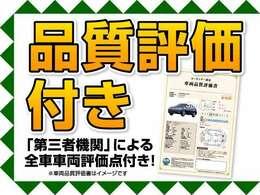 遠方の方もご安心下さい!各車両に第三者機関(AIS検査)の評価書をお付けしております!外装のキズや状態等をご提示しております。(一部検査中の車輛もあります。)