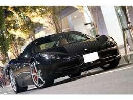 ● 【2010y フェラーリ 458 Italia ネロデイトナ タンインテリア 走行9000キロ台】● 【正規ディーラー車/コーンズ管理車両/左ハンドル/カーボンステアリング】