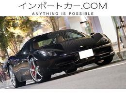 フェラーリ 458イタリア F1 DCT LEDステア/ネロ/タン/ディーラー車/七宝焼