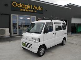 三菱 ミニキャブバン 660 CD ハイルーフ 4WD AT エアコン ドアバイザー