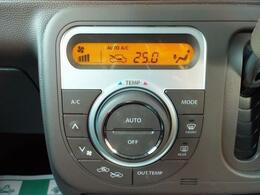 温度設定するだけで自動的に風量を調節してくれるオートエアコン機能付き!
