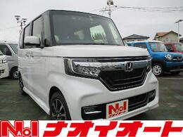 ホンダ N-BOX カスタム 660 G L ホンダセンシング 衝突軽減ブレーキ・LED・左側電動スライド