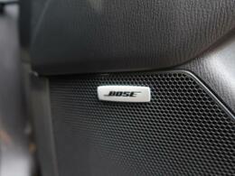 【BOSEサウンドシステム】BOSE社との共同開発によって、車内空間に最適な音響チューニングを施した新世代オーディオシステムを搭載!