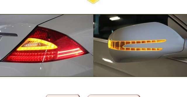 LEDテールランプ、LEDウインカーなど最近の車らしい灯火類に変更となった後期モデル