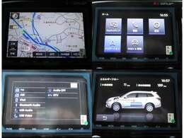8インチ画面のスマートフォン連携ナビゲーションが標準装備されています。
