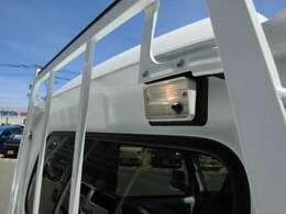 荷台を明るく照らして夜間の作業をサポートします!