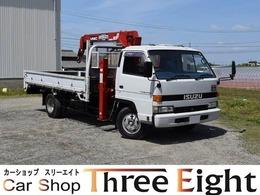 いすゞ エルフ 4.8 ワイド 超ロング フラットロー ディーゼルターボ ロングジャッキ 最大積載2750kg