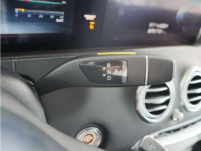 MTモード付9AT ボタン式パーキングブレーキ
