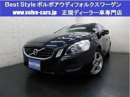 ボルボ V60 T4セーフティpkg 黒革/純ナビ/DTV/Bカメラ/スマート/ETC/保