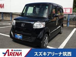 ホンダ N-BOX 660 G Lパッケージ 車検4年3月純正ナビTVETCプッシュスタート