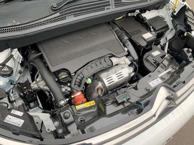 1.2Lターボのエンジンは爽快な走りをしてくれます!