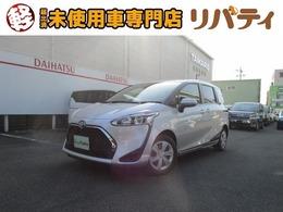 トヨタ シエンタ 1.5 X 登録済未使用車 スマートP セーフティS