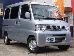 日産 NV100クリッパー 660 DX GL-PKG・キーレス・ナビTV・5MT