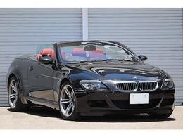 BMW M6 カブリオレ 5.0 ボルドーレザー 右ハンドル 専用内外装