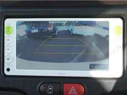 ガイド付きバックモニターで後方が確認でき安心です!駐車が苦手な方にもおすすめですよ♪