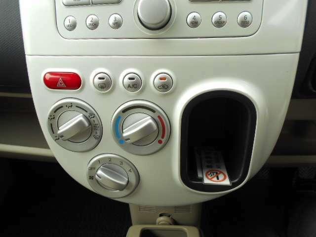 エアコンスイッチの画像です