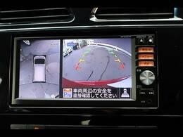 バックカメラを装備しておりますので車庫入れが不安な方でも後方確認が容易に行えます。またアラウンドビューカメラも搭載です。