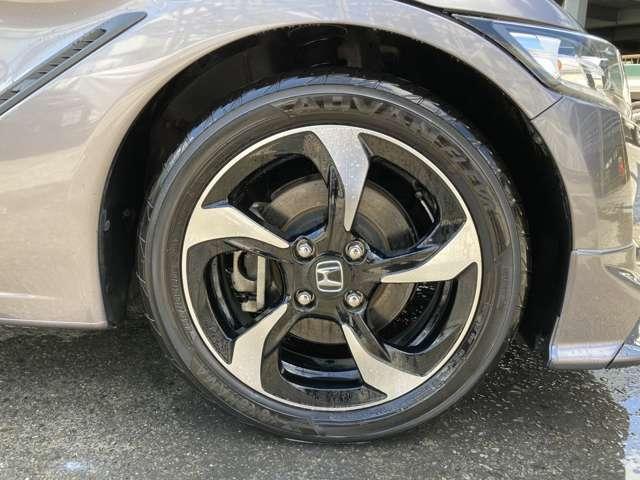タイヤも交換したばかりです