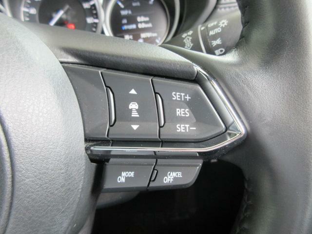 全車速で先行車に追従可能なレーダークルーズを採用しています。