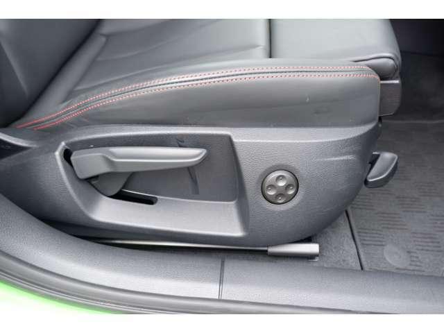 ランバーサポート付きですので長時間のドライブの疲労軽減にも役立ちます。