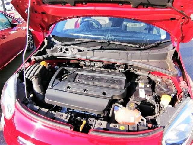 小排気量+ターボの組み合わせで、低燃費+高効率を実現。