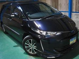 トヨタ エスティマハイブリッド 2.4 アエラス プレミアムG 4WD 全OPプリクラLDAWTVCソナPBドア寒冷サイドA
