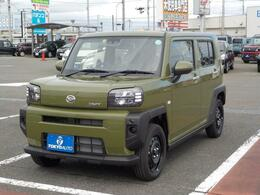 ダイハツ タフト 660 X 社外メモリ-ナビ付 フロアマット付