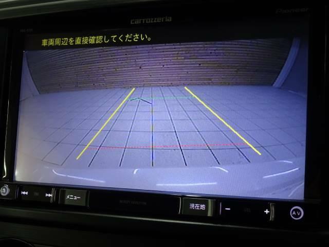 バックカメラ装備で、駐車も楽々です。
