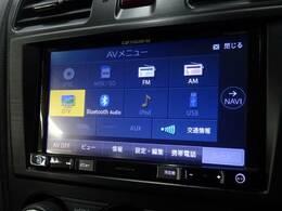 カロッツェリアSDTV装備で、ロングドライブも快適です。