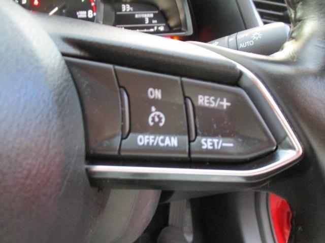 ■クルーズコントロール付き高速走行時のドライバーへの負担を軽減してくれます。