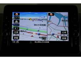 【ナビゲーション】9インチ大画面で明るく、簡単な操作方法、多機能ナビゲーション。知らない街でも安心です。
