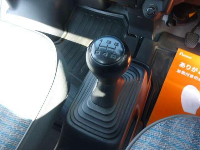 5速ミッション車