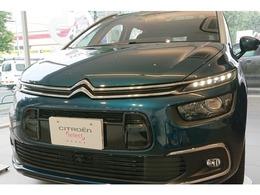 シトロエン グランドC4スペースツアラー シャイン ブルーHDi ディーゼルターボ 新車保証継承 カープレイ デモカー販売