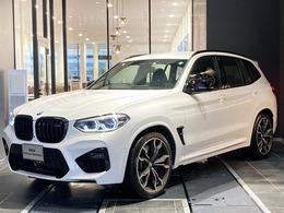 BMW X3 M コンペティション 4WD リアシートアジャストMシートベルトデモカ-