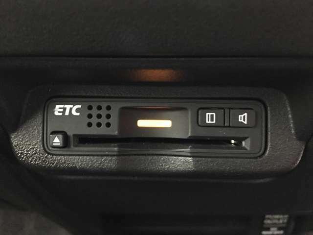 【ETC】高速走行もスムーズにお支払いが可能なご納車までにセットアップを行い、ご納車時にはご利用いただけるようにいたします♪