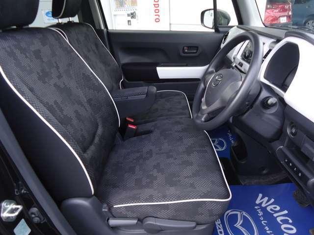 運転席&助手席です。ヘタリ等もなくとても綺麗な状態です。