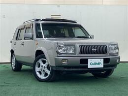 日産 ラシーン 1.8 ft タイプS 4WD ETC/サンルーフ/社外CDオーディオ
