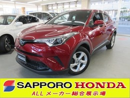 トヨタ C-HR 1.2 S-T 4WD ToyotaSaftyセンス CD  寒冷地仕様 ETC