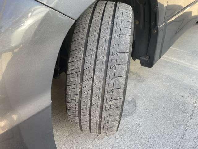 タイヤの残り溝も問題なしです!