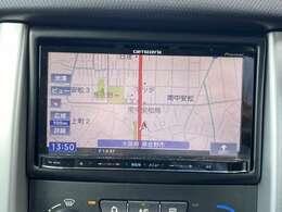 ◆社外メモリーナビ【フルセグTV付き、音楽プレイヤー接続可能。バラエティー性に富んだ装備なので道案内だでなくドライブを楽しくさせてくれます】