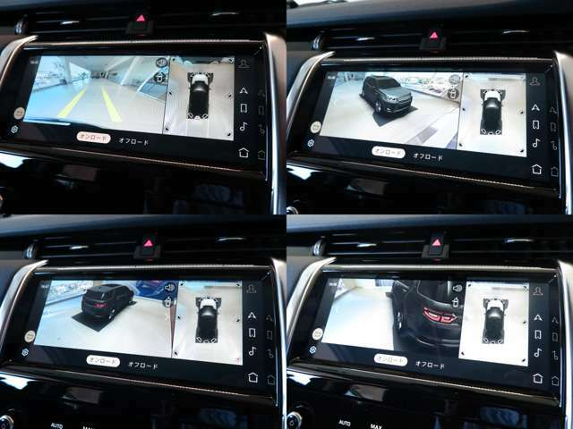 3Dサラウンドカメラや客観視線で車輌位置を確認できる新しいカメラシステムも内蔵!オプションのクリアサイトインテリアビューも装着済みです!