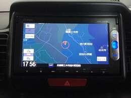 ホンダ純正7インチナビ「VXM-145VSi」装備されています。Bluetooth・DVD再生・ワンセグ対応です。