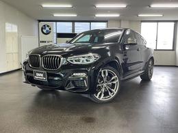 BMW X4 M40i 4WD ワンオーナー禁煙車 黒レザー 21AW