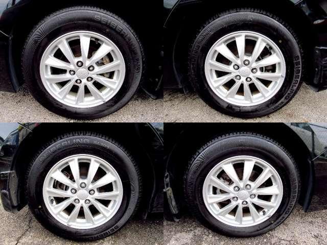 タイヤ溝もまだまだございます。