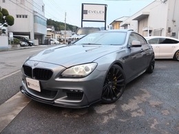 BMW 6シリーズグランクーペ 640i Mスポーツパッケージ サンルーフ/レザーシート/純正ナビ/20AW